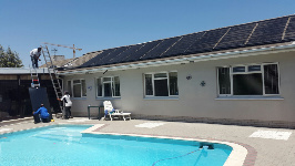 solar pool heating and pool
